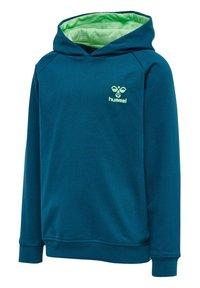 Hummel - Hoodie - blue coral green ash - 1