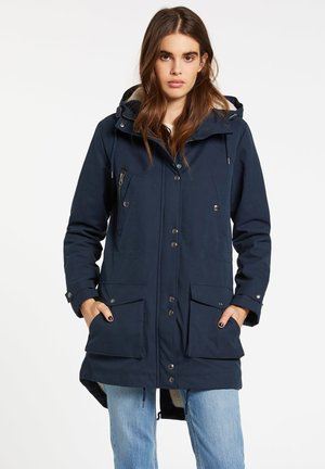 Winter coat - sea_navy