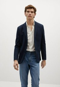 Mango - Blazer jacket - námořnická modrá - 0