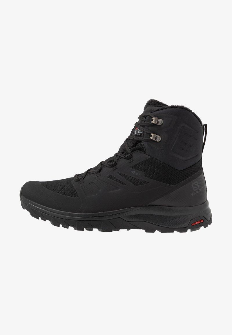 Salomon - OUTBLAST TS CSWP - Winter boots - black