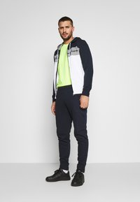 Champion - HOODED FULL ZIP SUIT - Chándal - dark blue - 1