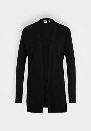 BELLA OPEN THIRD - Zip-up sweatshirt - true black