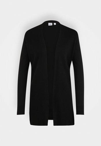 BELLA OPEN THIRD - Felpa con zip - true black