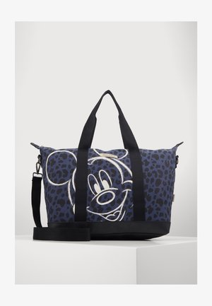 SHOPPING BAG MICKEY MOUSE MY FAVOURITE MEMORIES BLACK - Weekend bag - black