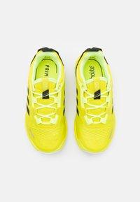 adidas Performance - TERREX AGRAVIC FLOW UNISEX - Scarpa da hiking - acid yellow/core black/hi-res yellow - 3