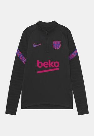 FC BARCELONA UNISEX - Club wear - black/hyper royal