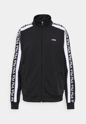 TAO TRACK JACKET - Training jacket - black/bright white