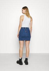 Noisy May - Mini skirt - medium blue denim - 2