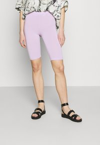 ONLY - ONLLIVE LOVE SOLID CITY 2 PACK - Shorts - orchid bloom/black - 1