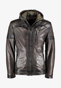 DNR Jackets - Leather jacket - brown - 0