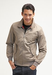 HARRINGTON - HARRINGTON - Bomber bunda - beige - 0