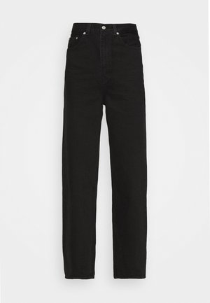 HIGH LOOSE - Flared Jeans - black denim