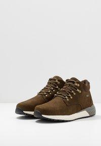 Skechers - FELANO - Sneaker high - taupe - 2