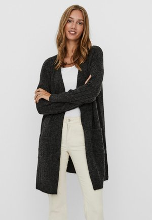 VMIVA  - Cardigan - dark grey melange