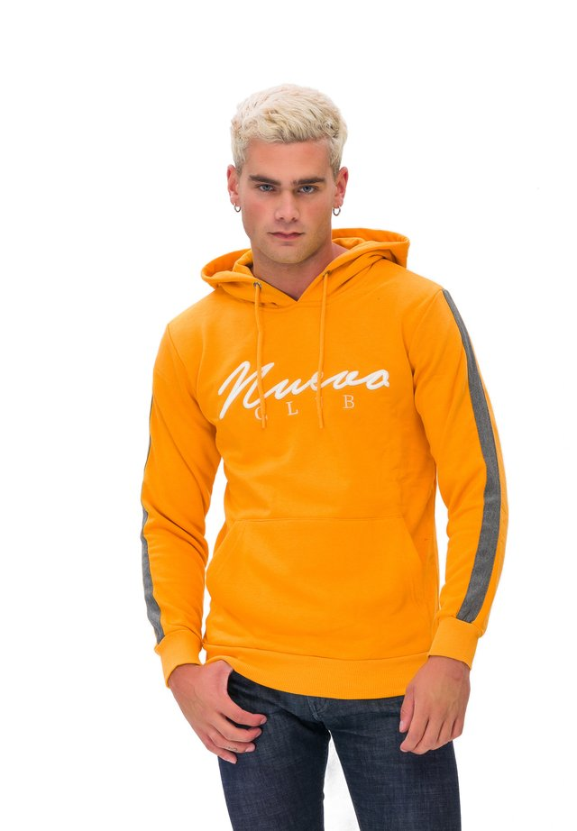 KAPUZENSWEATSHIRT MAN SWEATSHIRT - Sweat à capuche - yellow