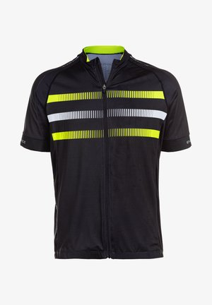 BRANTUL M CYCLING S BIKE - Print T-shirt - safety yellow