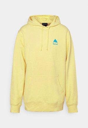MOUNTAIN - Zip-up sweatshirt - lemon verbena