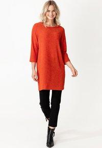 Indiska - MISHA - Jersey dress - red - 1