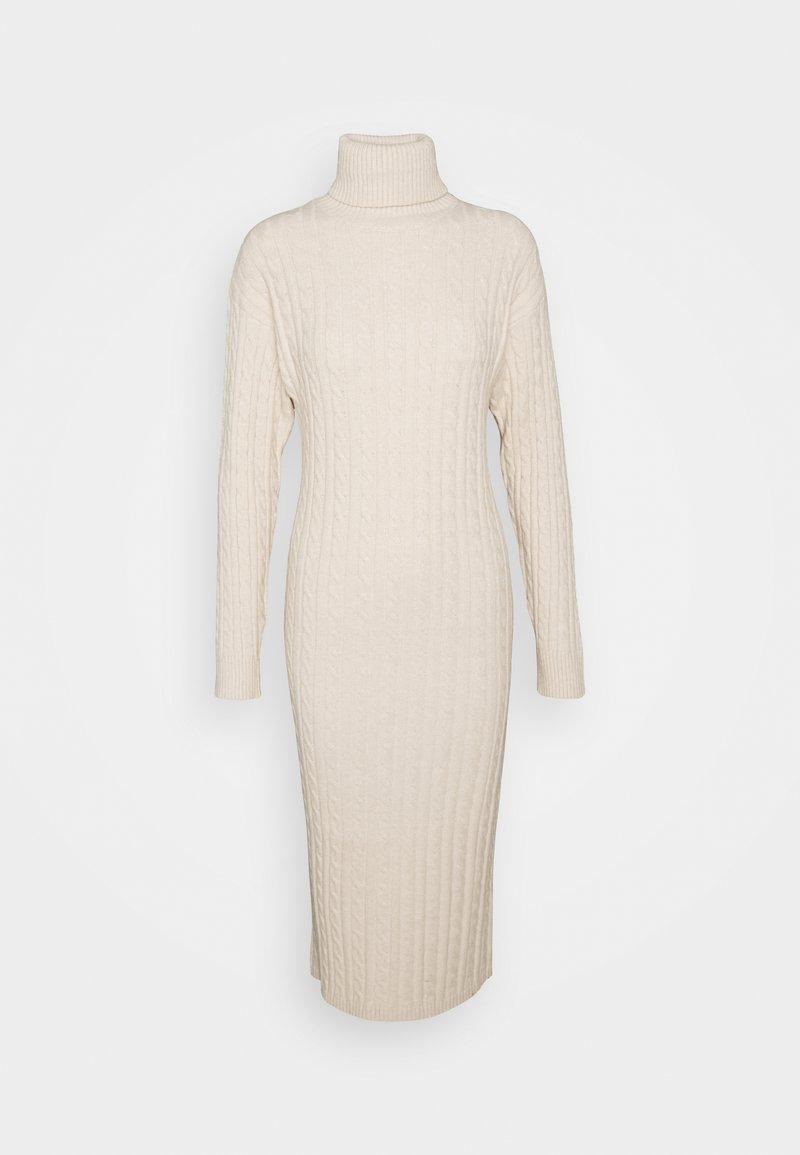 Fashion Union Tall - TEL - Gebreide jurk - cream