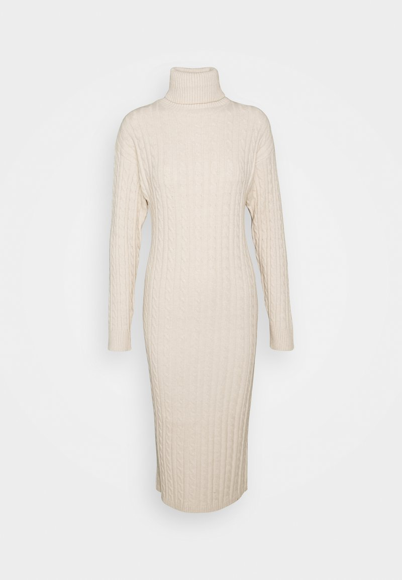 Fashion Union Tall - TEL - Strikket kjole - cream