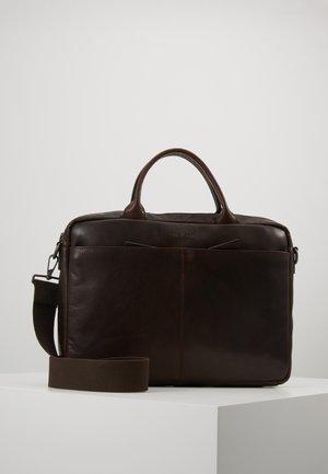 COLEMAN - Briefcase - dark brown
