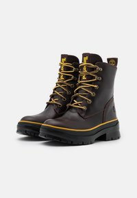 Timberland - MALYNN MID LACE - Lace-up ankle boots - dark brown - 2