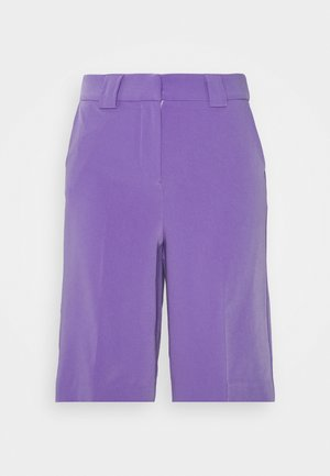 LONGLINE CITY SHORTS - Shorts - purple
