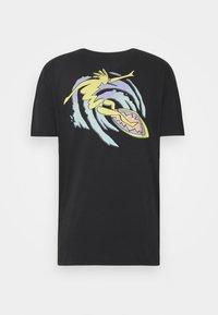 Quiksilver - ISLAND PULSE - T-shirt con stampa - black - 1