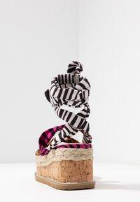 Public Desire - FRESCA - Platform sandals - multicolor - 5