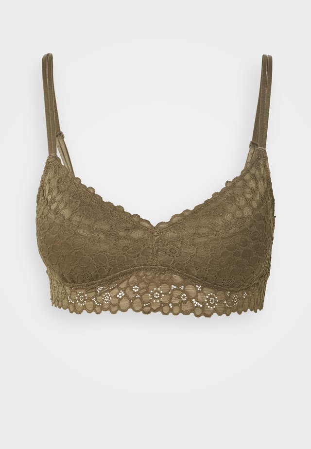 EXCLUSIVE REAL GOOD BRALETTE - Push-up bra - olive thermal
