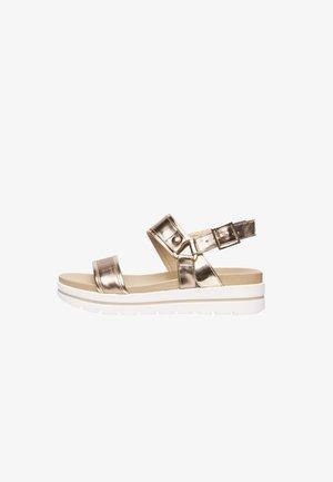 Sandály - bronzo