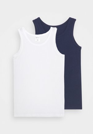 95/5 2 PACK - Undershirt - white/blue