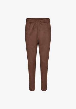 LEANE - Tracksuit bottoms - brown