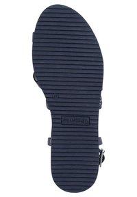 Tamaris - Wedge sandals - navy - 3