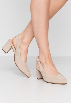 WIDE FIT WEDA  - Pumps - sand