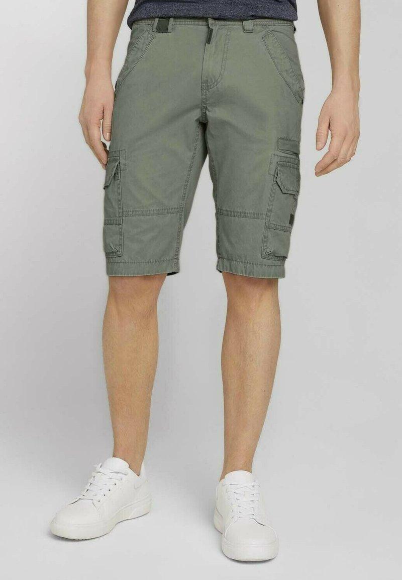 TOM TAILOR - Shorts - olive
