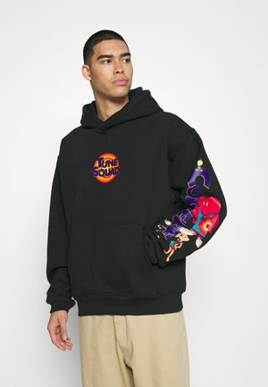 SPACE JAM COURT READY HOODIE UNISEX - Sweatshirt - black