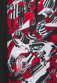 Puma - AC MAILAND PANTS - Club wear - tango red/black - 2