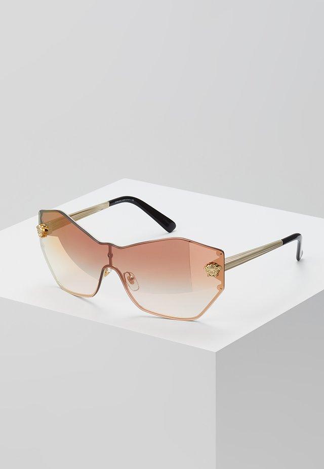 Okulary przeciwsłoneczne - pale gold