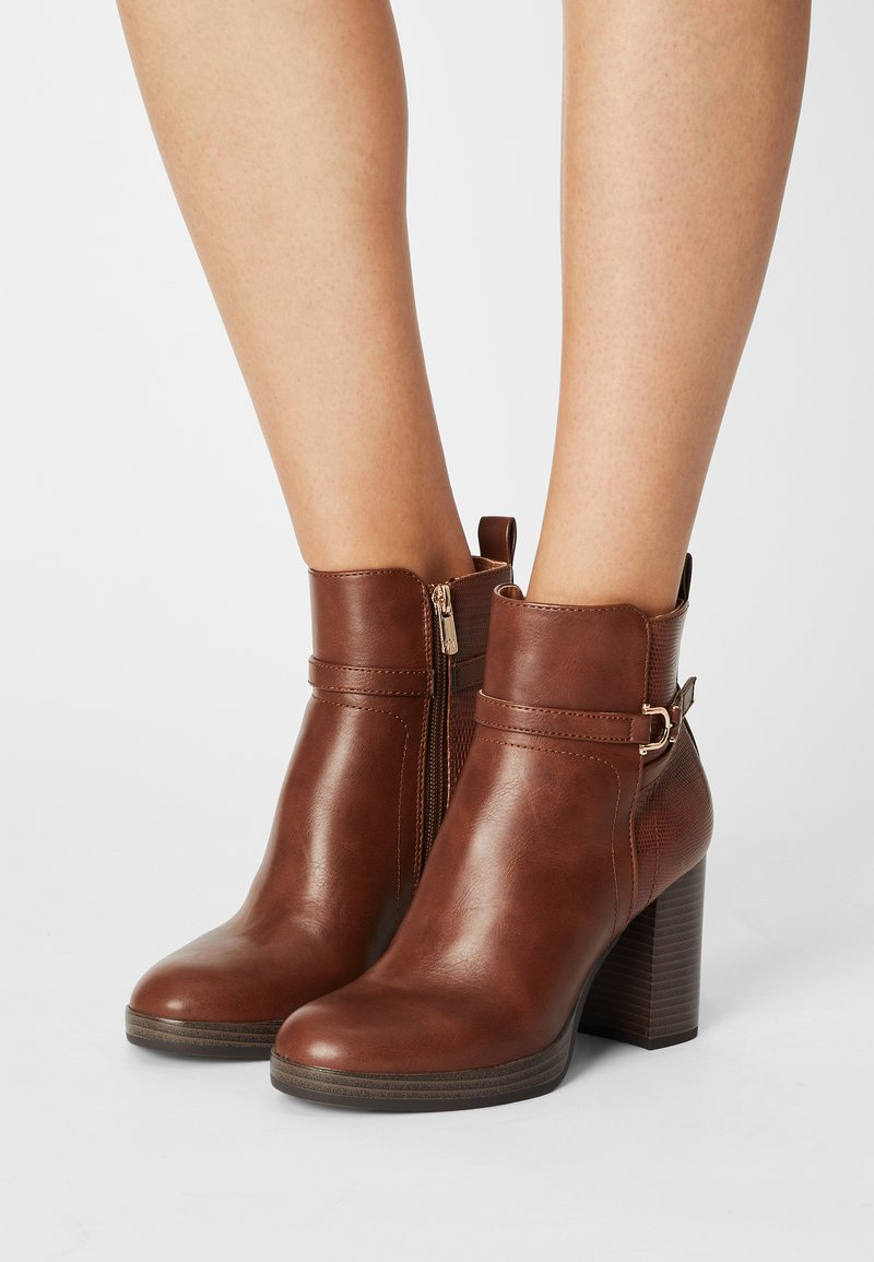 Anna Field - Classic ankle boots - cognac