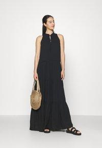 YAS - YASVELO DRESS - Maxi dress - black - 1