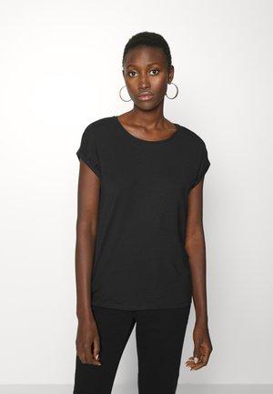 VMAVA PLAIN - T-shirts - black