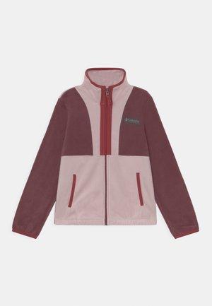 BACK BOWL™FULL ZIP UNISEX - Veste polaire - malbec/mineral pink