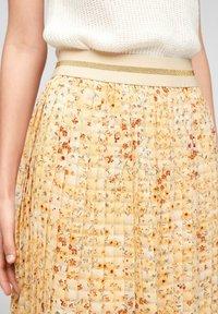 s.Oliver - A-line skirt - sunlight yellow aop - 3