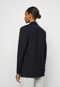 MM6 Maison Margiela - Short coat - dark blue - 2