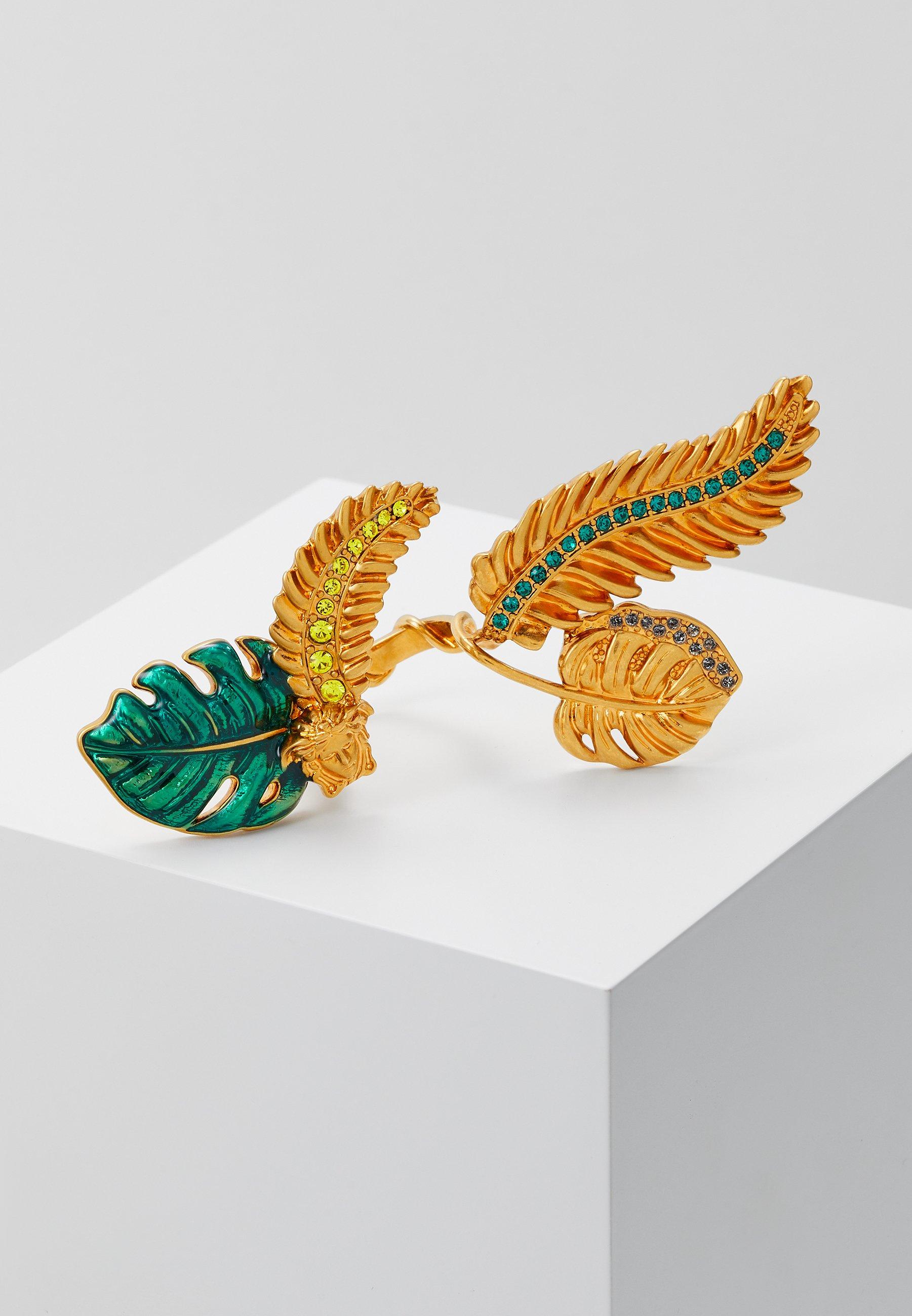 Les mieux notés Meilleurs prix Versace ANELLO - Bague - multicolor/oro - ZALANDO.FR I1UA0