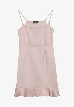Jersey dress - rose dust