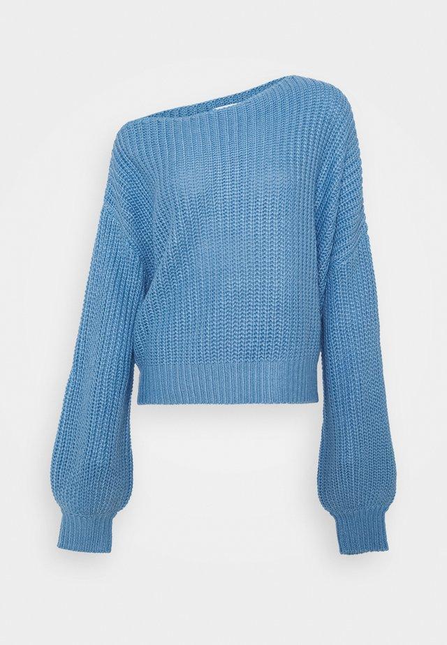 FREJA JUMPER - Maglione - blue