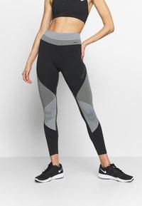 Nike Performance - ONE - Punčochy - smoke grey/black/particle grey - 0