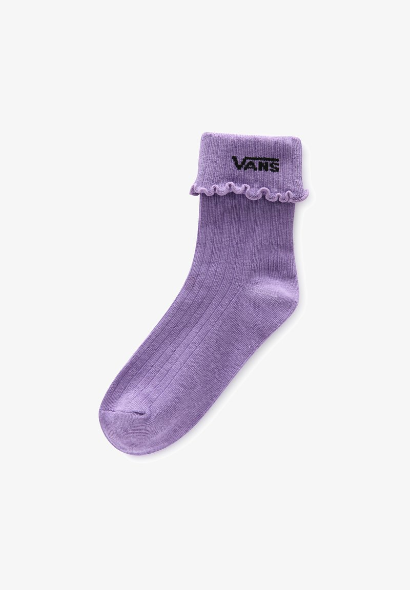 Vans - WM RUFFLE EDGE SOCK (6.5-10, 1PK) - Socks - chalk violet